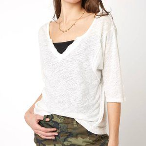 Free People Head in the Clouds Distressed Tee